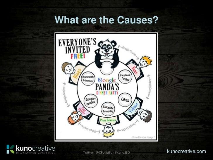 What are the Causes?     Twitter: @CPollittIU - #KunoSEO   kunocreative.com