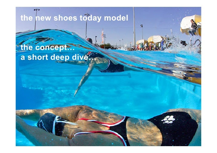 the new shoes today modelthe concept…a short deep dive…1