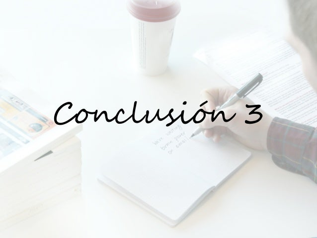 Conclusión 3