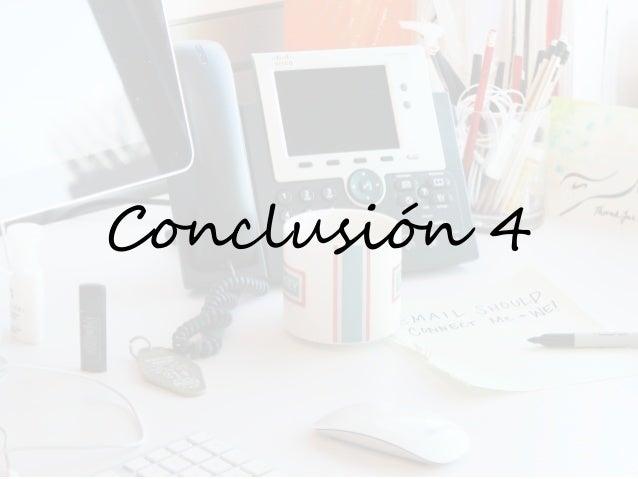Conclusión 4