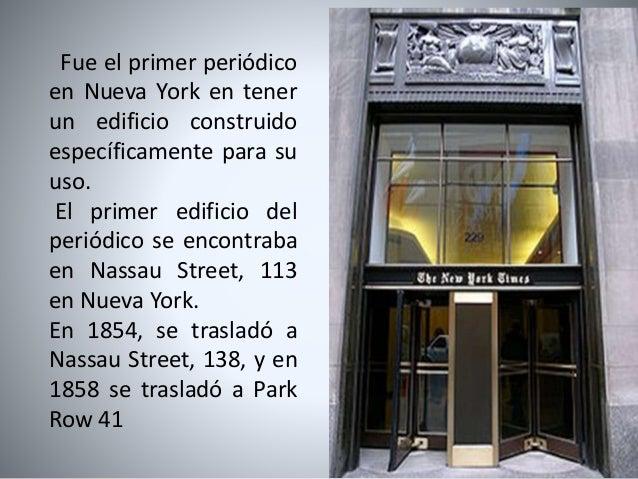 """Edificios del periódico """"The New York Times"""" Slide 3"""