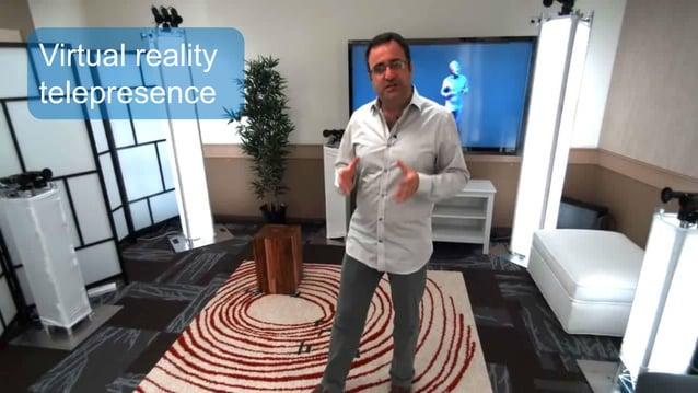 Virtual reality telepresence