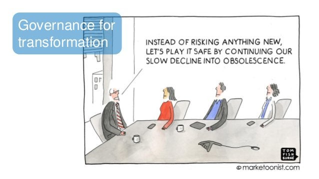 Governance for transformation