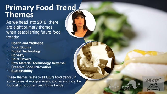 The Next Idea International Restaurant and Food Trend