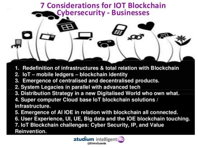 @DinisGuarda The Internet of Everything needs a Trust Protocol: A Ledger of Everything. Blockchain tech is the open, distr...