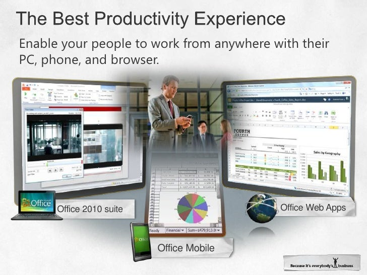 The Best Productivity Experience<br />Enable your people to work from anywhere with their PC, phone, and browser.<br />Off...