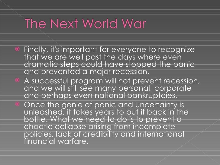 """next world war could be on The world is at war over water goldman sachs describes it as """"the petroleum of the next the cost overruns in this notoriously corrupt part of the world could."""