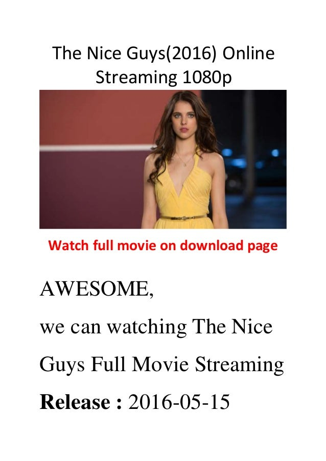 the nice guys download movie