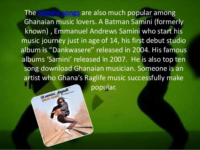 The Nigerian-Ghanaian young Music icon: E  L , Sarkodia, and
