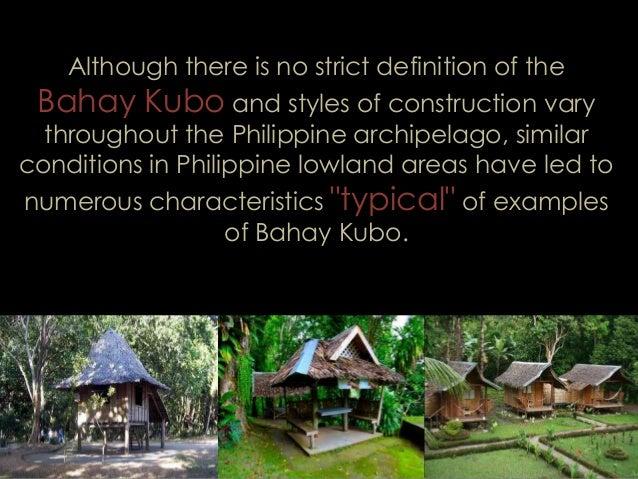 The Nipa Hut As A Green Building By Bryll Edison Par