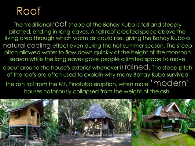 The Nipa Hut As A Green Building By Bryll Edison Par
