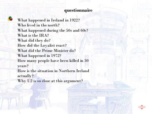 question 3 northern ireland Test your knowledge of northern ireland, a quiz for everyone by saints & scholars.