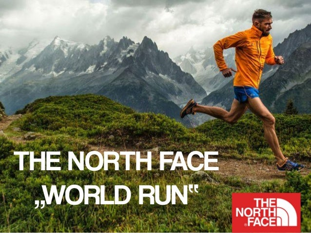 the north face running