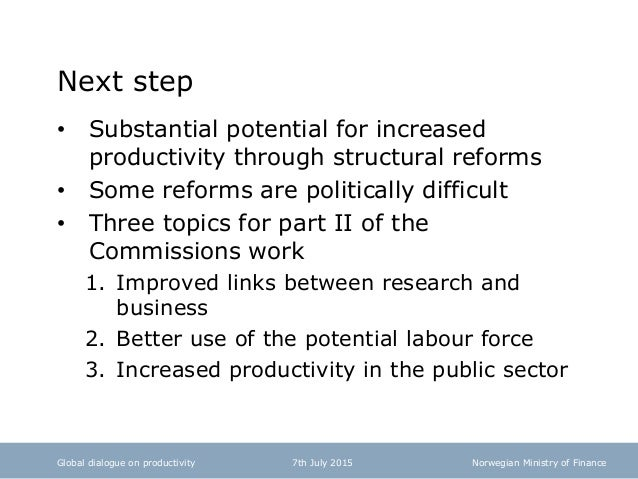 productivity commission research papers