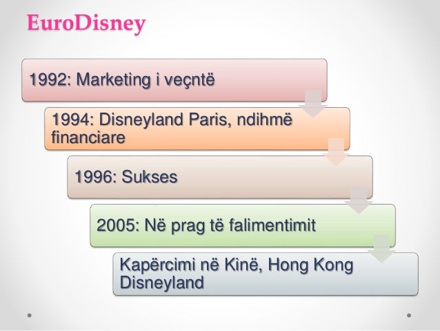 The Not-so-Wonderful World of Eurodisney Essay Sample