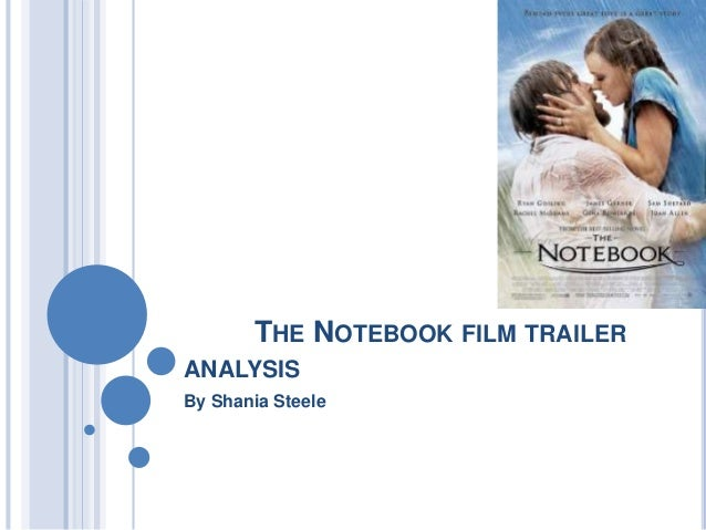 The Notebook film trailer analysis