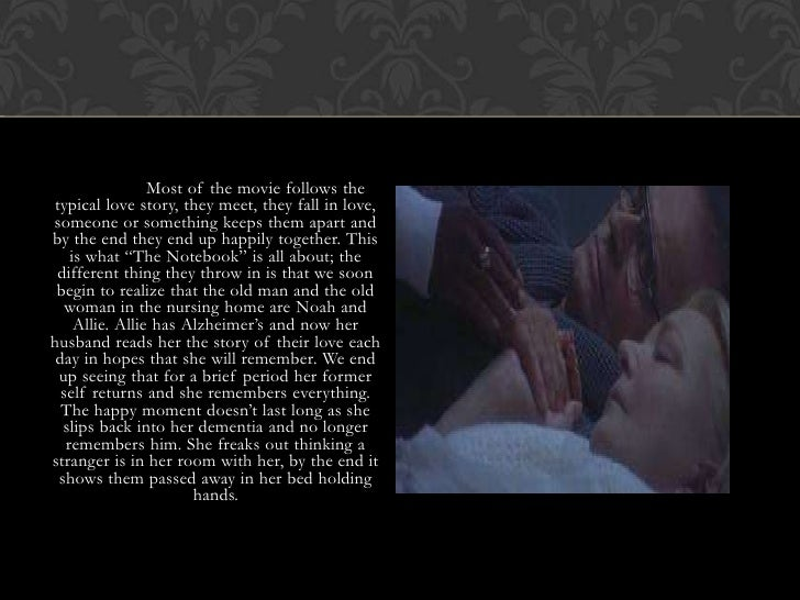 the notebook where did noah and allie meet