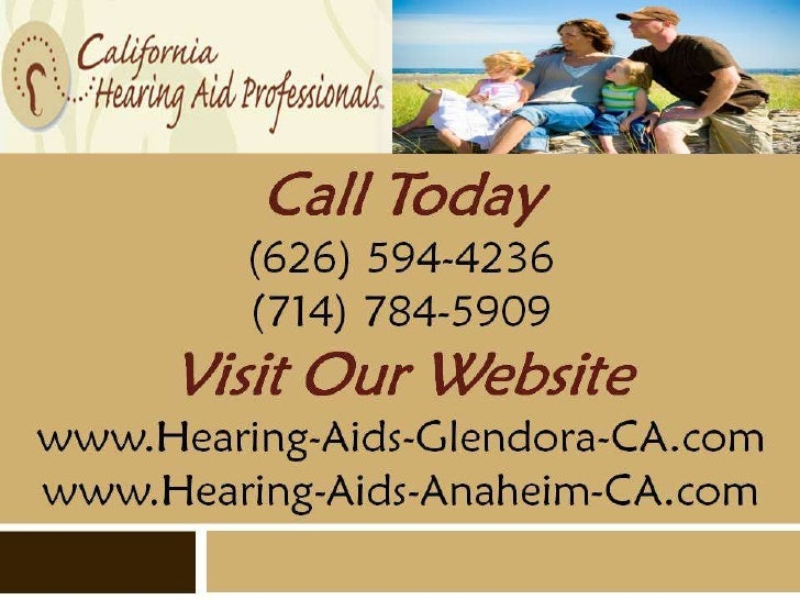 The NuEar Miniscopic™         Hearing Aid:   Innovative and Invisible              Glendora (626) 594-4236Call Today    An...