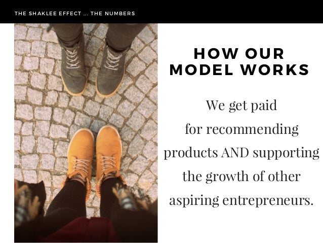 The numbers.. Understanding our Business Model Slide 3