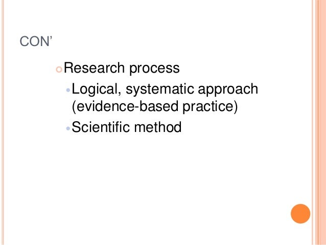 similarities and differences between nursing process and research process