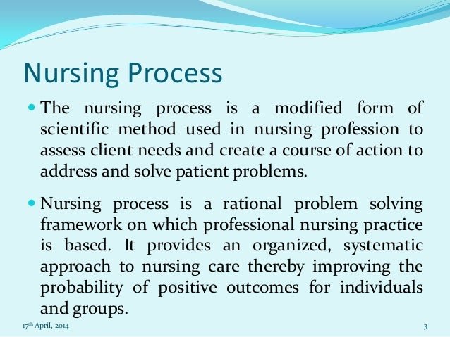 nursing essay on nursing process nursing