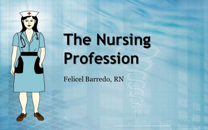 essays about nursing profession