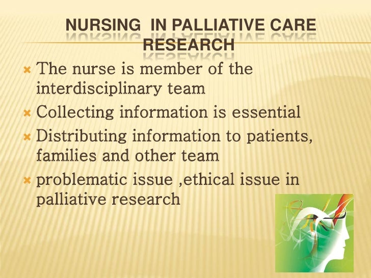 case study palliative care nursing Start studying hesi case study - hospice  which statement by jill indicates an understanding of palliative care  which nursing intervention is therapeutic for.