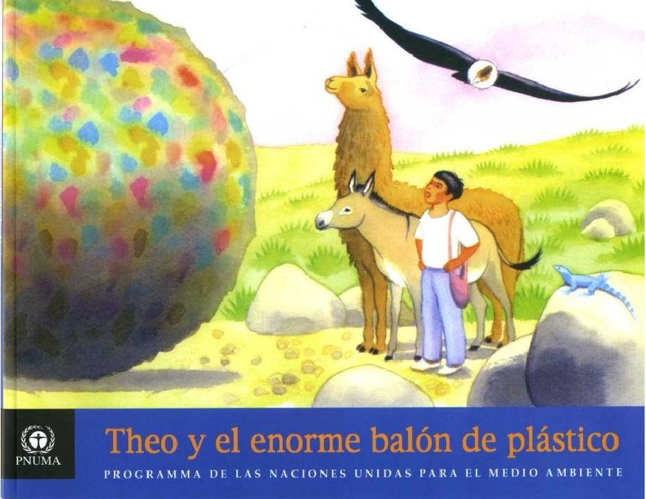 Theo y el enorme balon de plastico