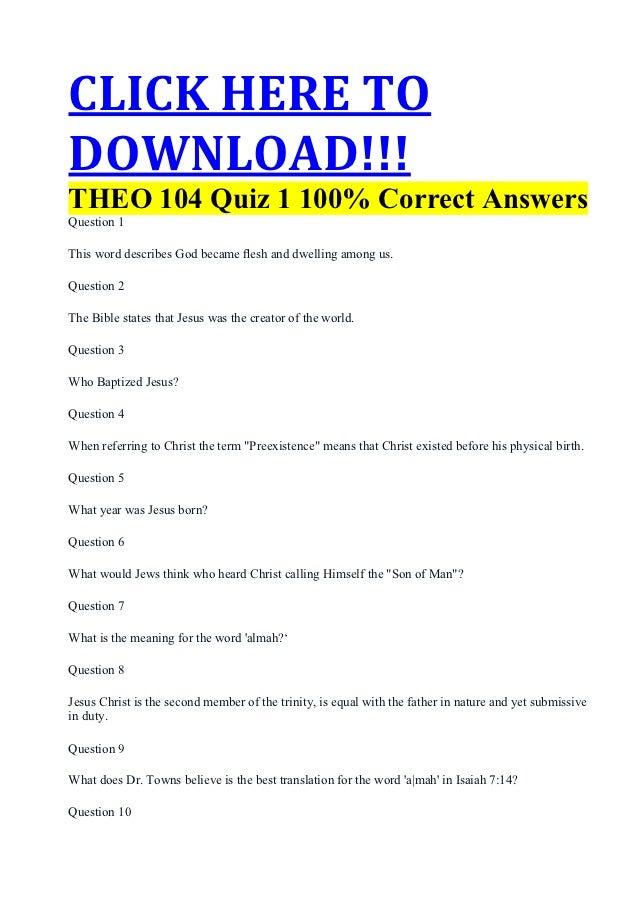 Apol 104 Quiz 6 Study Guide