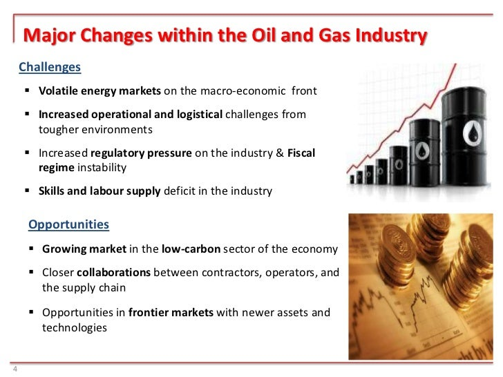 5 biggest risks faced by oil and gas companies