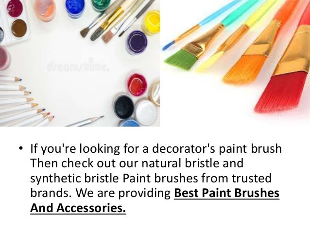 Oil Paint Brush Set