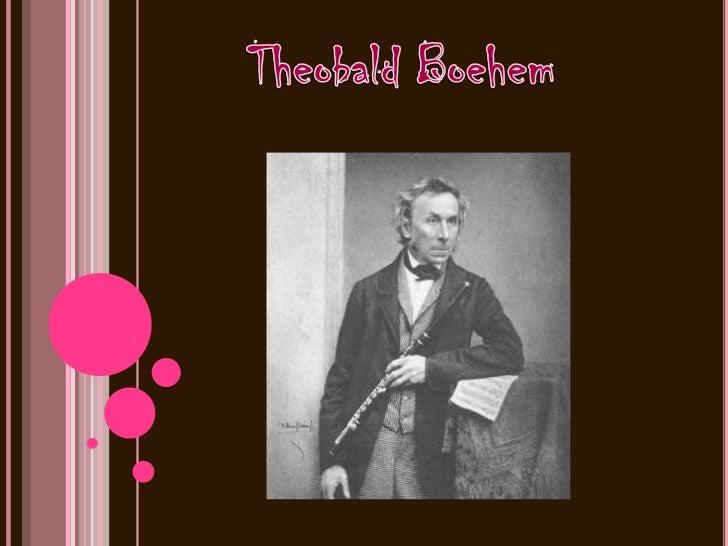 Múnich, 9 de Abril de 1794 Múnich, 27 de Noviembre de 1881),Theobald Boehm nació en Múnich, en la región de  Bavaria en 17...