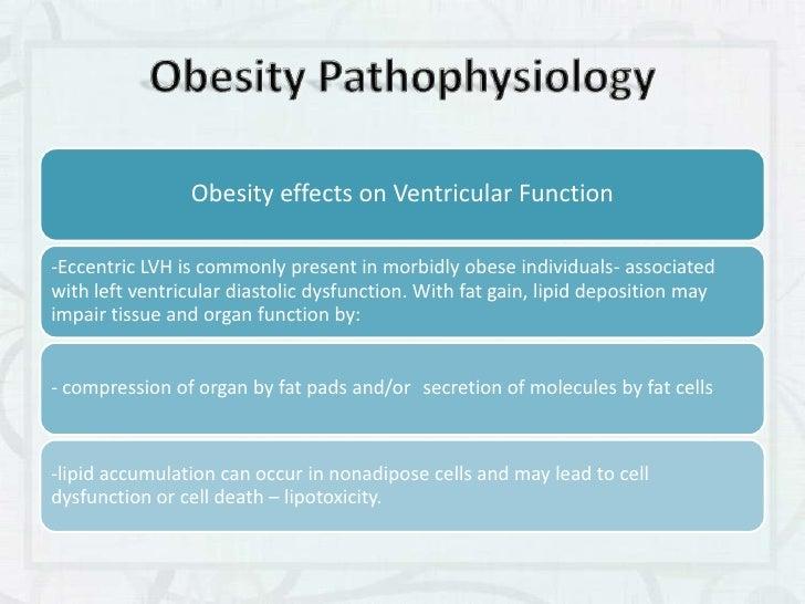 The obesity phenomenon.