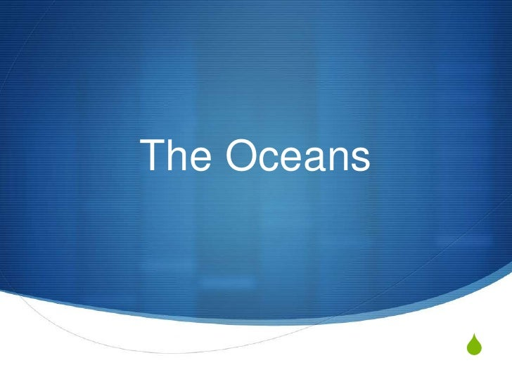 The Oceans<br />