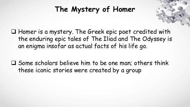 the qualities of men in the iliad and the odyssey two poems by homer The iliad/the odyssey has 55,836 ratings and 610 reviews  ancient greek poems  heroes of greece fought for honor and glory that the men of homer's day could .