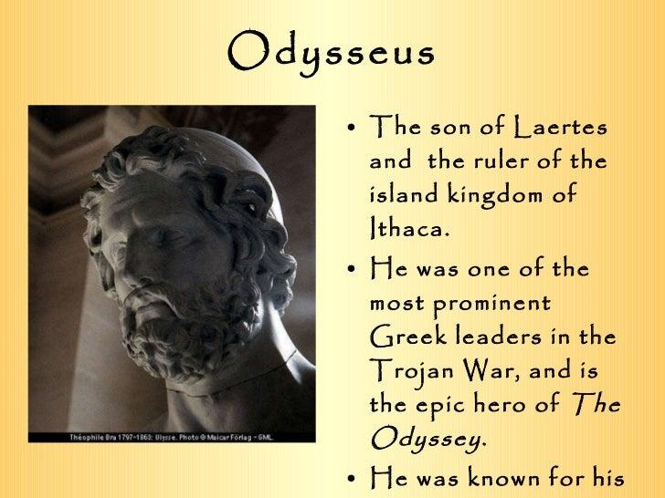 The Odyssey Greek Mythology Notes