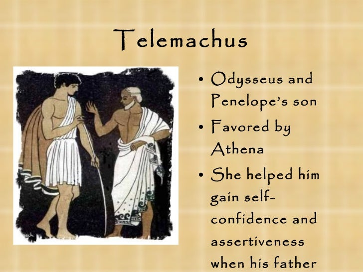 the symbols representing odysseus and telemachus Homer employs symbols to connect the characters in the odyssey, usually  it's  telling that none of the suitors can even string the bow only telemachus comes.