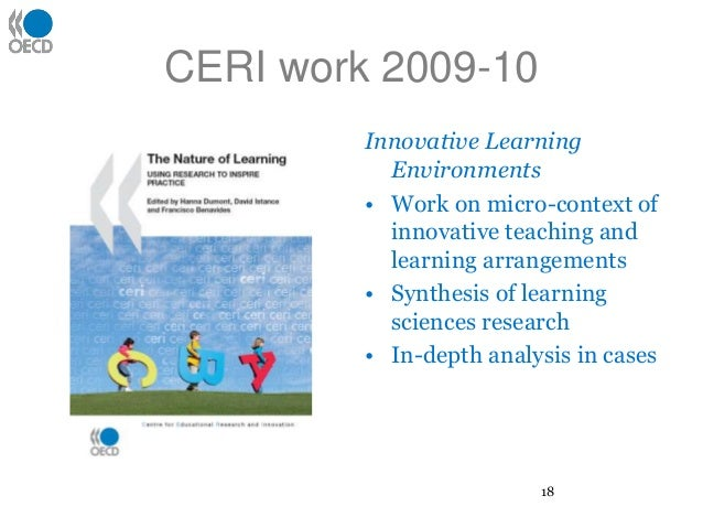 Innovative Classroom Strategies For Effective On Educational Transaction ~ The oecd centre for educational research and innovation