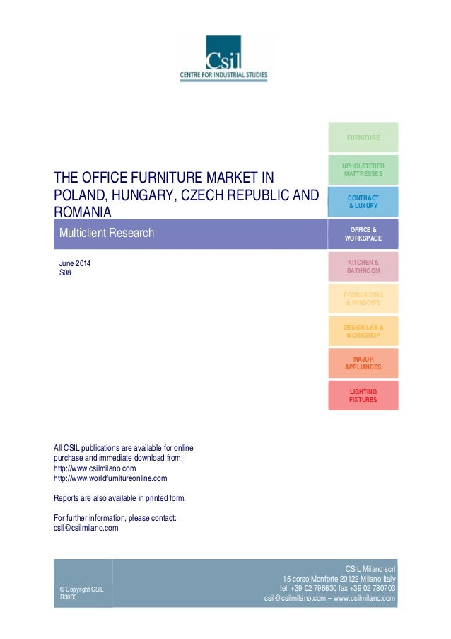 The Office Furniture Market In Poland Hungary Czech Republic And Ro