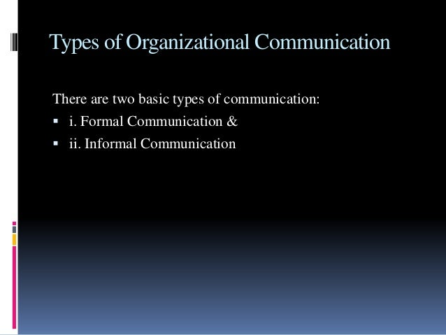 The office grapevine management communication – Types of Office Communication