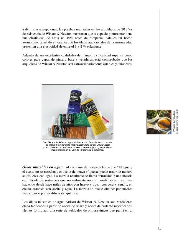 El libro del óleo. Winsor & Newton