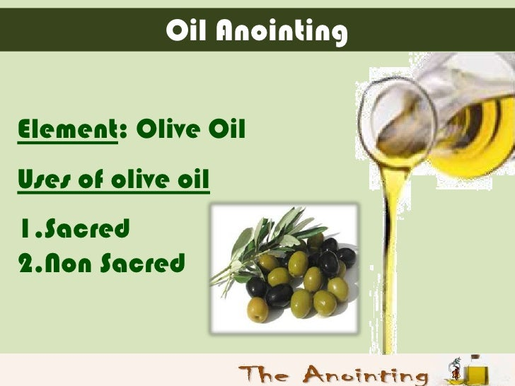 The Oil Of Anointing, Baptism