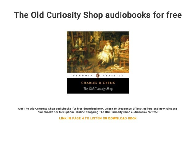 The Old Curiosity Shop audiobooks for free