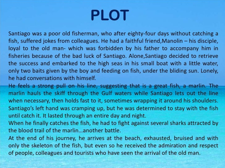 the old man and the sea summary pdf