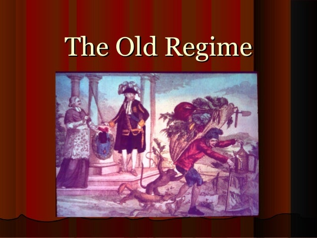 old regime A multimedia resource on the french revolution - the royalty of france - for lovers, students and teachers of history.
