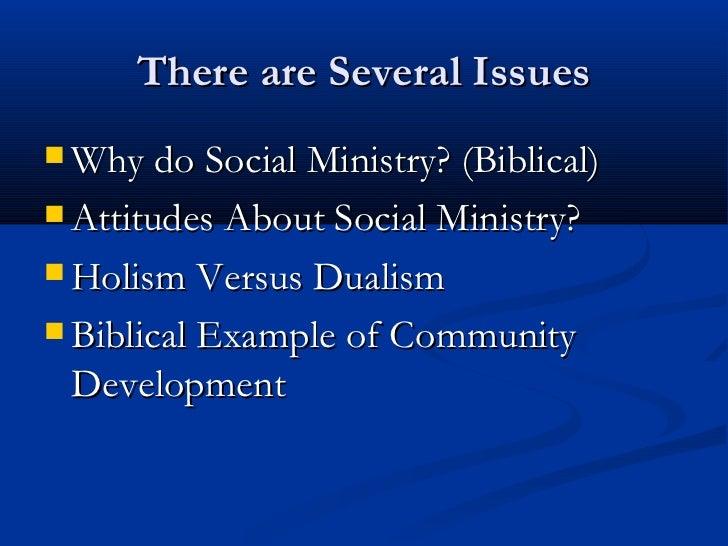 Christian Social Ministry I: Theology Slide 2