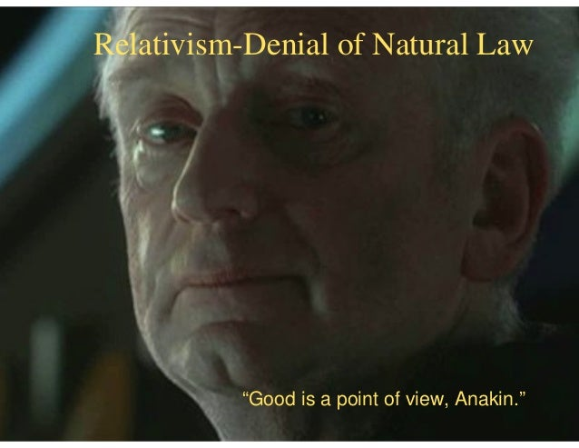 Image result for good is a point of view anakin