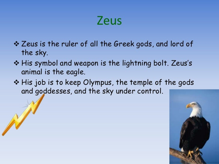 The Olympian Greek Gods And Goddesses