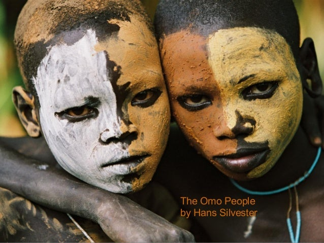 The Omo Peopleby Hans Silvester