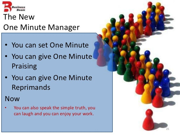 the one minute manager simple The one minute manager urges us to be concise and clear with communication - not just in setting goals and giving praise, but also when reprimanding poor behavior.